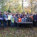 Über 30 Teilnehmer besuchten das Heimatmuseum der Familie Silberbauer im Oktober 2013