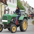 Anita - unserer Neuzugang bei den Traktorfreunden