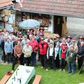 über 30 USV Aktivisten besuchten das Raritätemuseum am 10.5.2014 in Röschitz