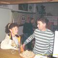 Irene und Pepi besuchten natürlich auch die Weinbar