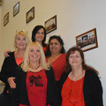 USV Damenteam 2016 : Brigitte, Gerti, Andea, Saly und Monika