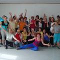 Über 20 Aktivisten kamen beim 1. USV Zumba Termin