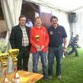 Siegerehrung: 4 Platz für den USV Kainreith/Walkenstein