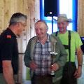 ältester Teilnehmer: USV Mann Walter Leutgeb - Glückwunsch