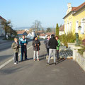 jeden Samstag treffen sich zwischen 5 und 12 Nordic Walker in Walkenstein