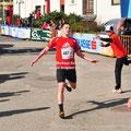 Unser 1. Läufer Stefan Bauer