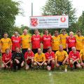 Bei´m Sportfest 2013 spielten die USV Senioren gegen den CLUB Horn