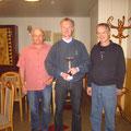 Die Sieger Rudolf Schweitzer, Karl Bruckner und Rudolf Gatter