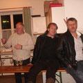 AR Martin Bruckner und Harald sowie Alfred zu späterer Stunde