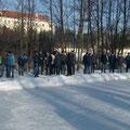 Viele Zuseher beim Heimspiel am 12.2.2012