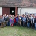 Über 50 USV Aktivisten waren bei der Besichtigung in Hötzelsdorf dabei