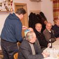 Karl Schleinzer gratuliert Otto Garhofer zum 80iger, denn er vor wenigen Wochen feiern durfte...