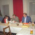 Der USV Vorstand mit UNION NÖ Präsident R. Hager
