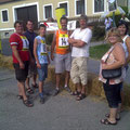 USV Fahrer mit Familie Seitz, Herbert Hofer u. Andrea Schleinzer