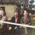 links: Walter Wallner - Sportlicher Leiter USV 1979/1980