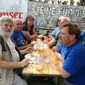 Einkehrschwung bei den Festen in Mödring und Kainreith