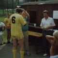 ÜBERREICHUNG MEISTERMEDAILLE DURCH OBMANN VANCURA 1986