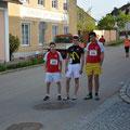 Unser Team vor dem Start ( Christian, Philipp und Manuel)