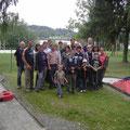 Teilnehmer beim 1. USV Minigolfturnier 2009