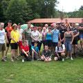 Teilnehmer bei der Radausfahrt nach Gallien  2011