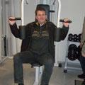 """Karl Schleinzer beim """"Training"""""""