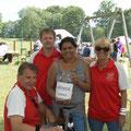 Danke an die Initiatoren und Spender für DEFI Aktion - € 600,- konnte der USV beim Sportfest 2013 aufbringen