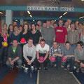 Über 30 USV Aktivisten besuchten den 2 Kegelabend am 23.3.
