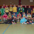 Halle Langau 3.2.2012  Trainingsspiel gegen USC Burgschleinitz