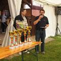 OV Meierhofer und Obmann Rupert Sprung vor der Siegerehrung