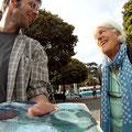 Die Plein-Air-Malerei macht Freude.