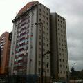 Avance de los trabajos en fachada sur
