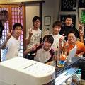 2014.8.24 気仙沼にボランティアに来てくれた、九州大学を中心にしたメンバー!凄く汗だくになって本当にお疲れ様でした〜!元気をありがとうございました!!