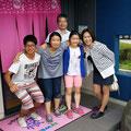 2014.7.29 東京からの可愛いお客様!モデルに挑戦してもらっちゃいましたー☆眞美さん玉緒先生ありがとうございました♡♡