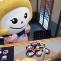 2014.11.12 ふかひれちゃんがサプライズ来店☆小銭入れの色を決められず、全部買っていきました!!可愛かったー♡ありがとうございました!