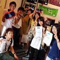 2014.9.4 いつもボランティアで気仙沼に来てくれる九州大学の学生さんたちが、今回は観光で来てくれました☆たくさん楽しみましたか〜?また遊びにきてくださいねー♡