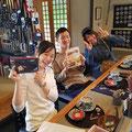 2018.5.3 学生時代にボランティアで気仙沼に来ていたみんちょさん、矢野君、玉田さん!皆さん立派な社会人になられて嬉しい(・´ω`・)