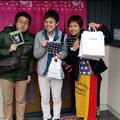 2014.3.29 大阪からのお客様!集めた募金で商品をお買い上げ、それを寄付してくださった方に還元なさるそうです!素晴らしい取り組みに頭がさがります!!
