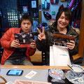 2013.12.12 兵庫ご出身の下瀬さんと京都ご出身の岡西さんです!仙台から、ありがとうございました!