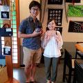 2018.8.14 星野さんが素敵な女性をつれてキター☆ ご結婚おめでとう♪お似合いの二人お幸せに(^_^)v