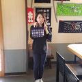 2019.11.2 岐阜から友美ちゃん♥️高田の林檎園でお手伝いの帰りに寄ってくれてありがとう(^^)
