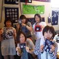 2014.9.3 東京からのお客様!オーダーバッグのご注文をいただきました〜♡みなさん笑顔が素敵ですね♡♡ありがとうございました!