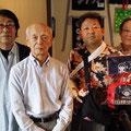 2014.6 東京から能楽師の高橋様がご来店!鈴木あいちゃんを介する驚きのご縁があり、バッグを購入いただきました!!ありがとうございました♡