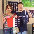 2014.8.6 横浜からお越しの戸塚さんご夫妻!東北を、気仙沼を、もっと好きになってもらえたら嬉しいです♡ぜひまたご来店ください!