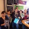 2014.7.21 津軽三味線の渋谷和生様ご一行様!いろいろお話できてとても嬉しかったです♡たくさんお買い上げいただきありがとうございました!