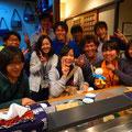 2013.9.22 すっかりおなじみ九州大学の皆さんです!たくさんの元気をありがとうございました!