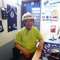 2014.6.1 志津川から自転車(!!!)で来られた益子さん!尾形君とお友達になって帰られました〜♪ありがとうございました!