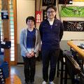 2019.11.2 宮城に何度も足を運んでいただいている恩田ご夫妻♥️又お店に遊びに来てくださいね(*^^*)