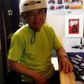 2014.6.8 小泉から自転車でご来店の益子さん!いつも楽しいお話ありがとうございます☆☆