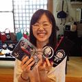 2014.7.4 お店の常連の女医さんと一緒に働かれている横山先生がご来店♡笑顔がとっても素敵♡♡いっぱい買っていただきありがとうございました!!