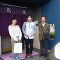 2014.11.1 慶應義塾大学の小川教授ご一行様がご来店♡いろいろお話聞かれて緊張しましたー(汗)。 たくさんのお買い上げありがとうございました!